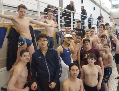 MatchPoint NYC Swim Team at the Hydro Swim Meet