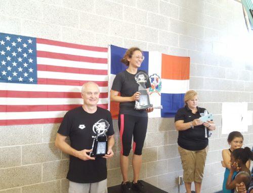 MatchPoint NYC Swim Team at Redtails International wim meet in Lehman College