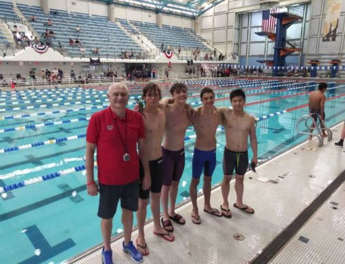 MatchPoint NYC Swimmers Take On Metro Junior Olympics on Long Island