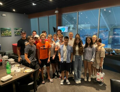 MatchPoint NYC Swim Team Hosts A Party For Graduating Seniors